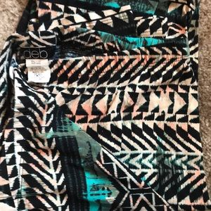 Deb shop tribal print leggings